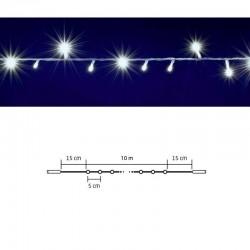 Ghirlanda luminoasa, 200 LED-uri, legare in serie, 10 metri, IP44