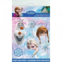 Photo Props Frozen, pentru petreceri copii, set 8 bucati