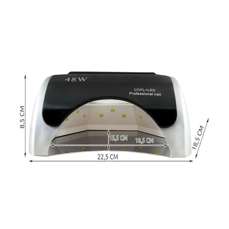 Lampa Led Uv Profesionala Pentru Manichiura 48w Senzor Miscare