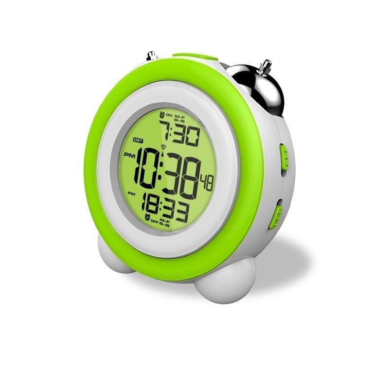 Ceas digital, format ora 12/24, calendar, alarma duala, display iluminat