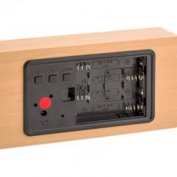 Ceas de birou, display LED, senzor sunet, temperatura, calendar, alarma