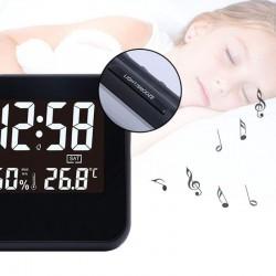 Statie meteo, senzor sunet, pictograme meteo, alarma, display 5.19 inch