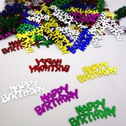 Confetti Happy Birthday Party, multicolore, punga 20 g