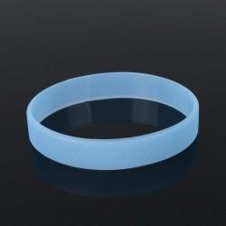 Bratara silicon, fosforescenta in intuneric, diametru 6.5 cm