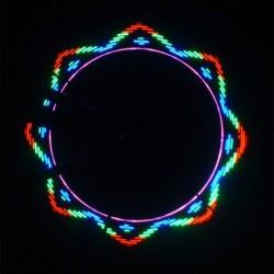 Ventil cu LED multicolor pentru bicicleta
