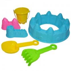 Forme pentru castel de nisip cu accesorii