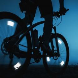Stop reflectorizant spite bicicleta, 12x4 cm, ABS