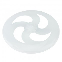 Accesoriu jucarie Frisbee disc zburator, DIY luminescent, 19 cm, ABS