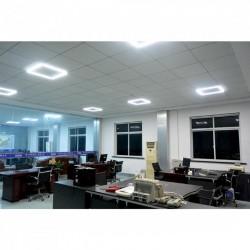 Corp lampa pentru tavan fals, 32 LED SMD, 4000 lumeni, 40 W, aluminiu