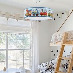 Lampa de tavan, 40 W, Bobita si Buburuza, pentru camera copilului