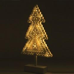 Decoratiune cu LED-uri, 39 cm, lumina alb cald, alimentare baterii, interior