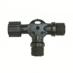 Distribuitor T pentru ghirlande luminoase, IP44
