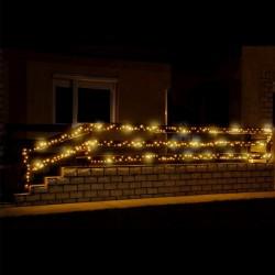 Instalatie luminoasa sir, 500 LED-uri, alimentare 230V, IP44, Home