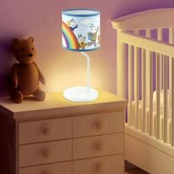 Lampa de masa, E14, 25W, imprimeu Bobita si Buburuza