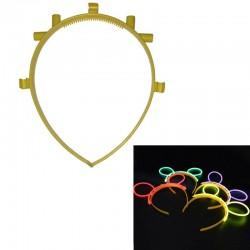 Accesorii cordeluta luminoasa model urechi de iepuras