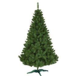 Brad artificial verde, aspect Premium, inaltime 260 cm, suport inclus