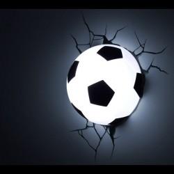 Lampa 3D minge de fotbal