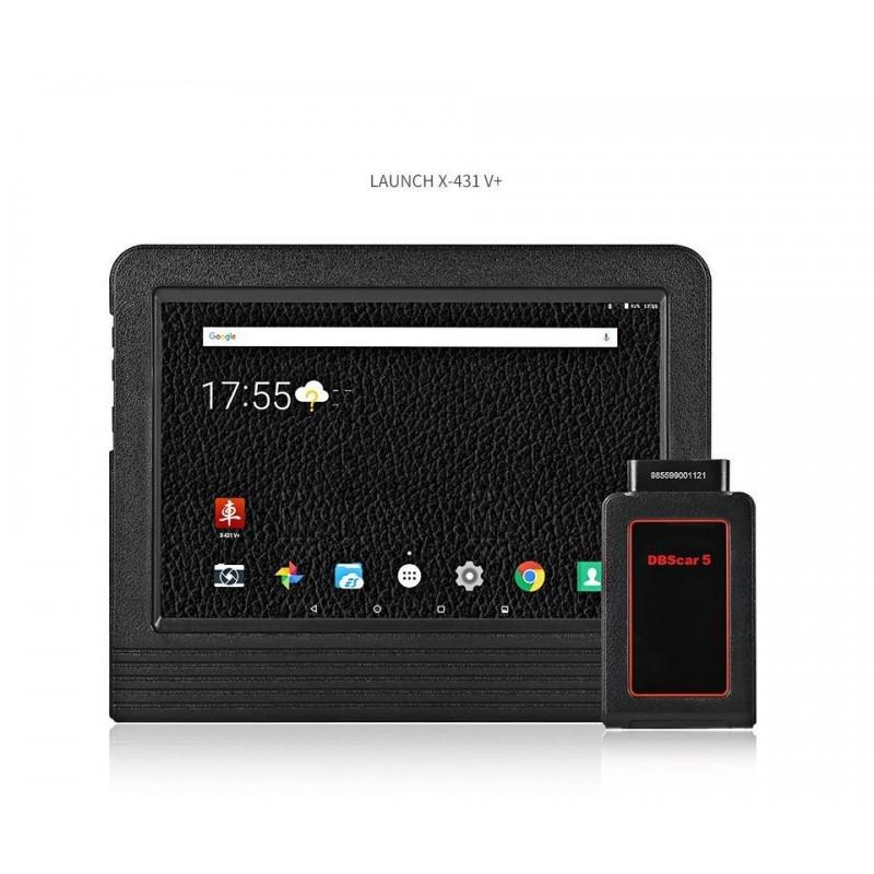 Diagnoza auto Android 4.0, internet, ecran capacitor, Launch X431 V PLUS