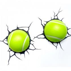Lampa 3D mingi de Tenis