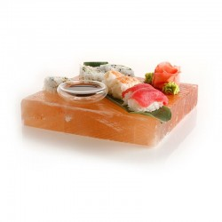 Blat pentru gatit alimente din sare de Himalaya, 20x10x2.5 cm, 1.1 kg