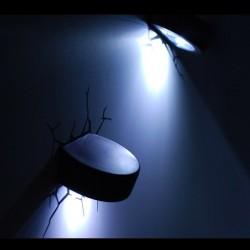 Lampa 3D puc de Hockey