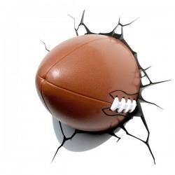 Lampa 3D minge de Rugby