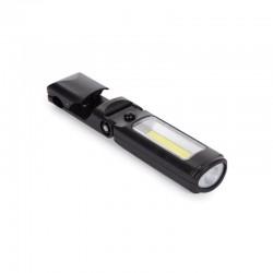 Lumina lucru cu suport magnetic, COB 1W, baterii 3xAAA, Velleman