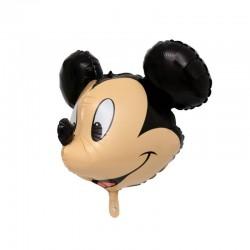 Balon figurina 3D Mikey Mouse,dimensiuni 74x52 cm, aer si heliu