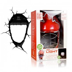 Lampa 3D masca de Hockey