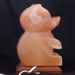 Lampa electrica din sare, model Urs, alimentare retea