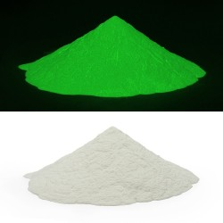 Pigment verde fosforescet, lumineaza intens 12 ore, baza de apa