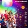 Bec smart inteligent LED, wi-fi 2.4 GHz, RGBW, control telefon