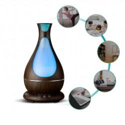 Difuzor ultrasunet aromaterapie, LED, 400 ml, 12W, temporizator