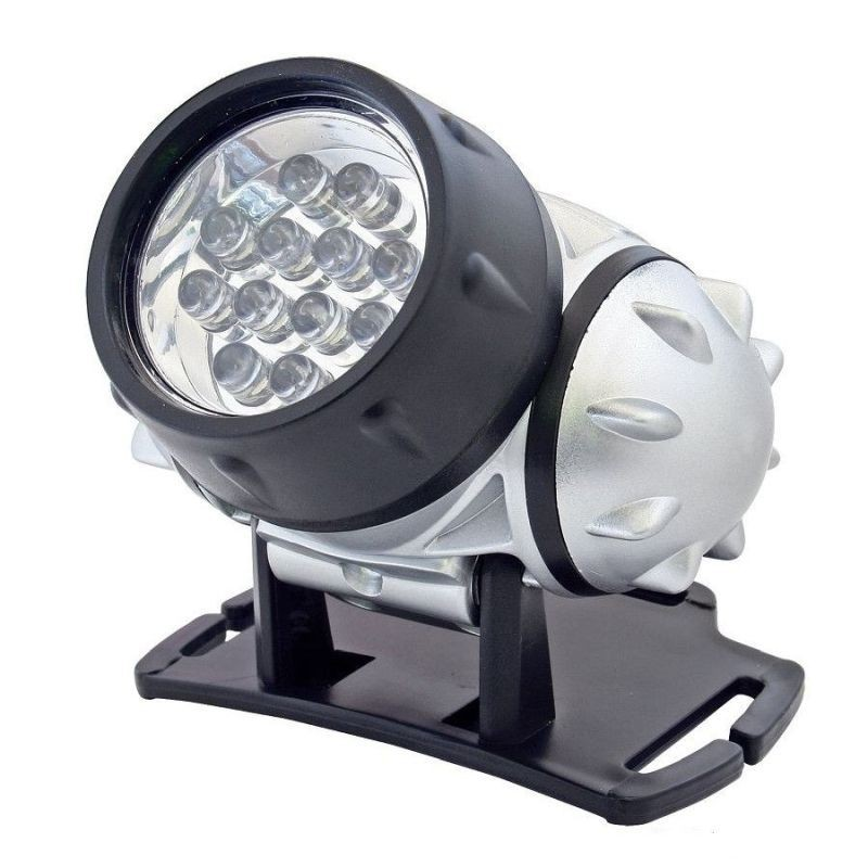 Lanterna frontala, 12 LED-uri, 4 moduri iluminare, unghi reglabil, Home