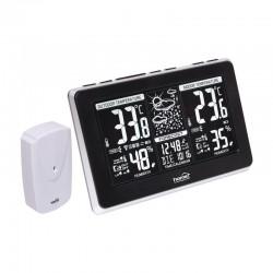 Statie meteo cu emitator extern, LCD, ceas, calendar, interior/exterior, Home