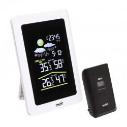 Statie meteo, emitator extern, LCD, raza actiune 60m, ceas, alarma, Home