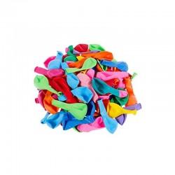 Baloane latex, multicolore, forme si dimensiuni diferite, set 100 bucati