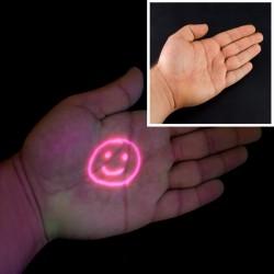 Cerneala UV invizibila rosie pe baza de apa, flacon 100 ml