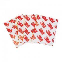 Protectie colturi mobila si muchii, spuma, 5.5x3 cm, set 4 bucati, gri
