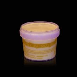 Vopsea invizibila fluorescenta reactiva UV, transparenta galbena