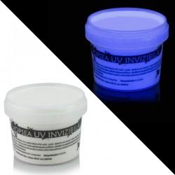 Vopsea UV fluorescenta invizibila Alba