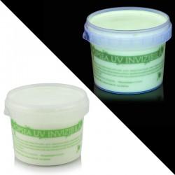 Vopsea invizibila fluorescenta reactiva UV, transparenta verde