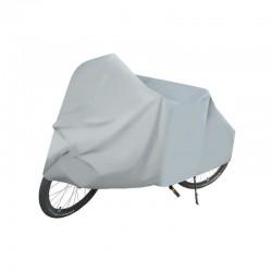 Husa protectie bicicleta motocicleta, 200x100x130 cm, impermeabila, gri