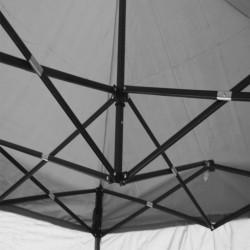 Cort 3x6 metri, impermeabil, cadru otel, evenimente, expozitii, alb