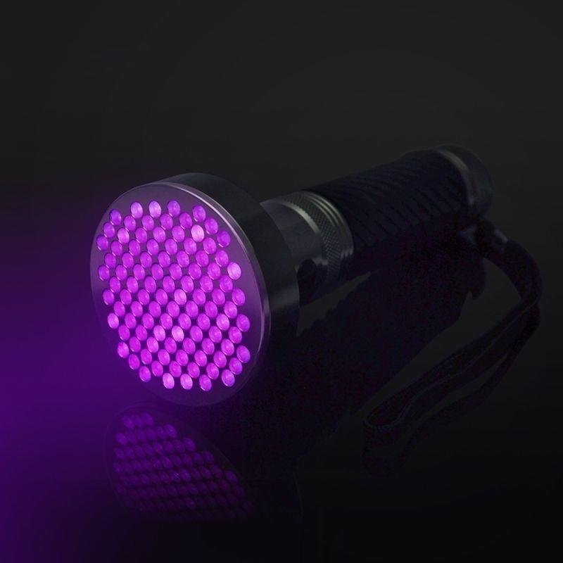 Lanterna UV Monstru 100 LED-uri 380 nm