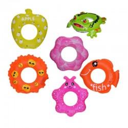 Colac gonflabil copii, diverse modele, 72-75 cm, imprimeu multicolor
