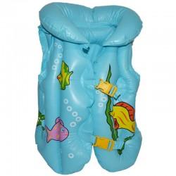 Vesta gonflabila inot pentru copii, 2 catarame reglabile, imprimeu colorat
