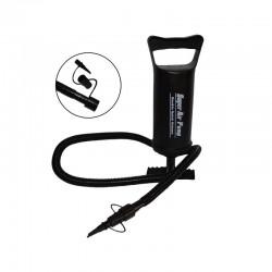 Pompa de aer pentru gonflabile, actionare manuala, 3 supape, ABS negru