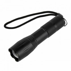 Lanterna LED de mana, 200 lm, 5 moduri de iluminare, rezistenta la apa, aluminiu
