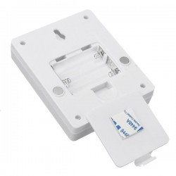 Lampa LED COB 3W, 200 lm, 10x8 cm, spate magnetic, baterii, alb